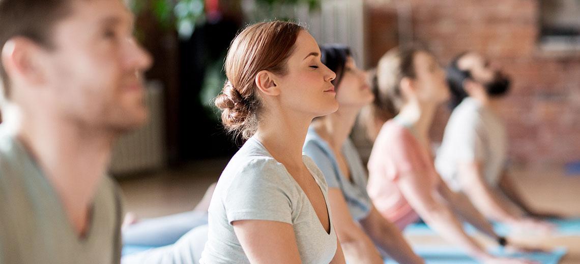 Yoga entreprise à Lyon Sandra Tétard