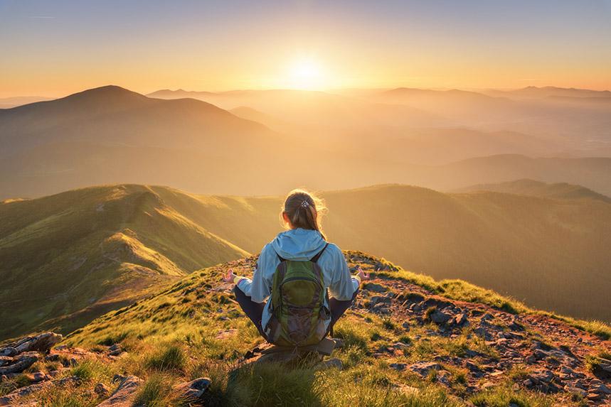 Yoga, randonnée en Vanoise